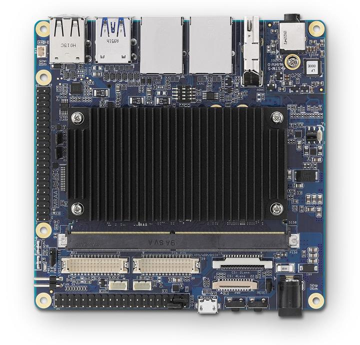配备I-Pi SMARC载板的LEC-IMX8MP