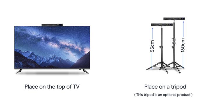 Android TV盒的三脚架安装图