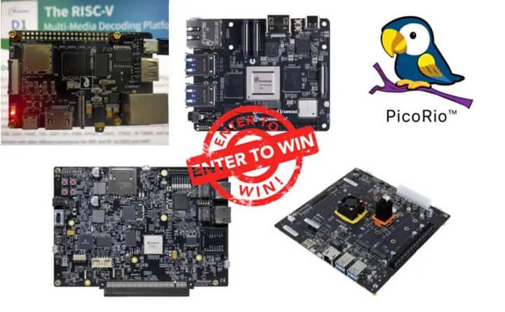 参与此次赠送活动的五种RISC-V开发板