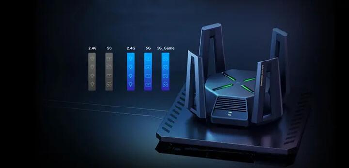 小米AX9000 WiFi 6增强型三频段路由器