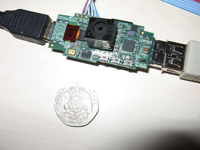 树莓派USB计算机的模型