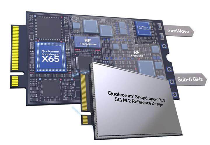 高通Snapdragon X65和X62 5G M.2参考设计