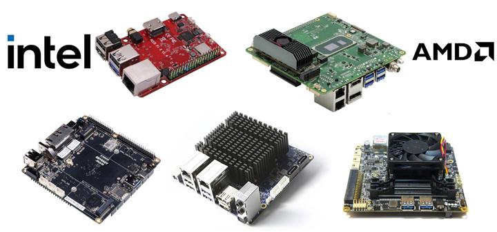 5款Intel和AMD单板计算机