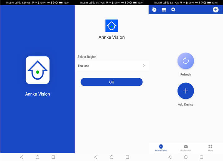 Annke-vision-Android-app-registration