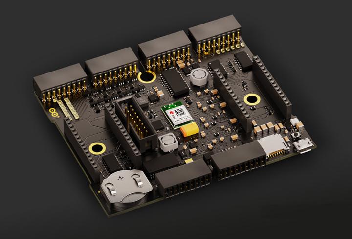 Arduino Edge Control主板图