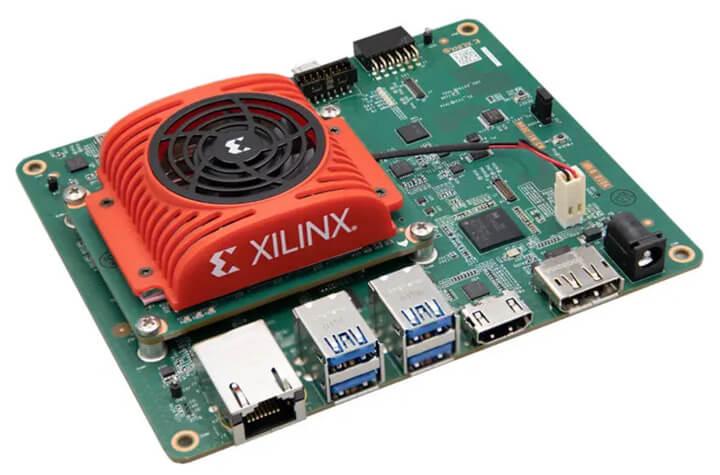 Kria KV260 Vision AI硬件展示