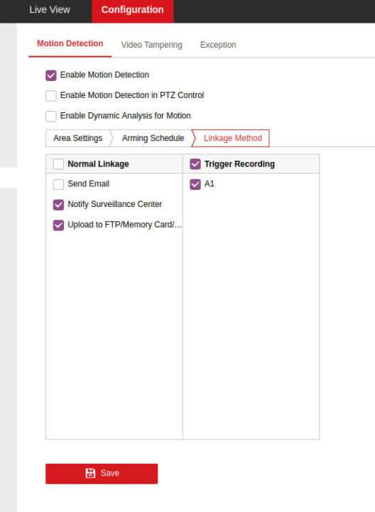 Motion-Detection-Linkage-Method