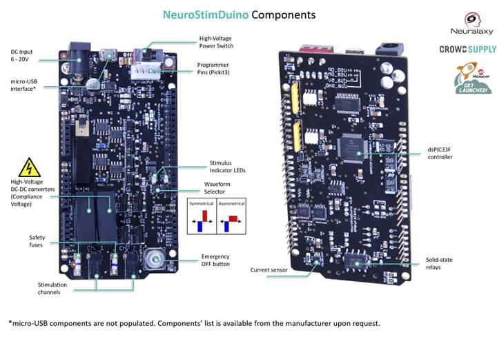 NeuroStimDuino 组件