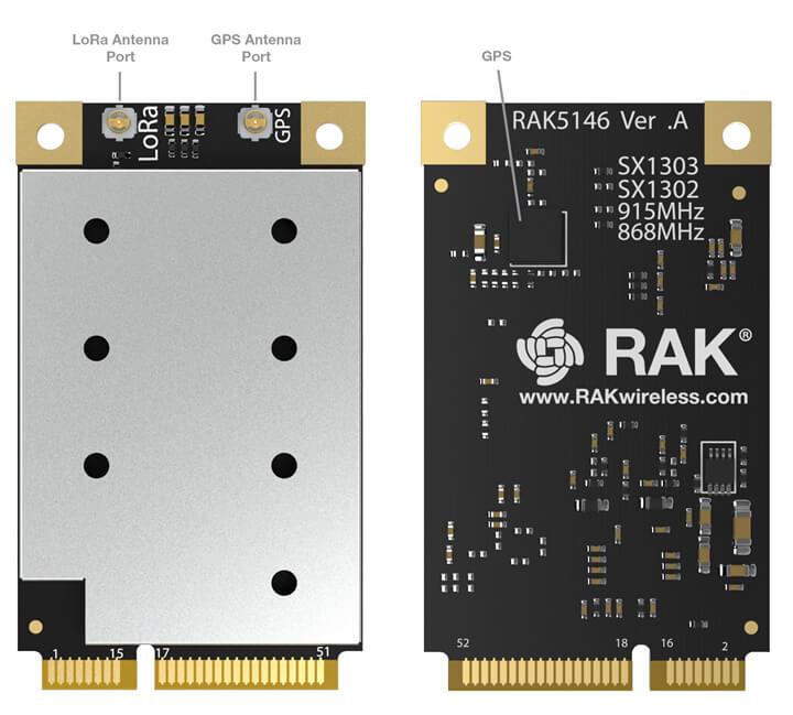 RAK5446 SX1303集中器模块