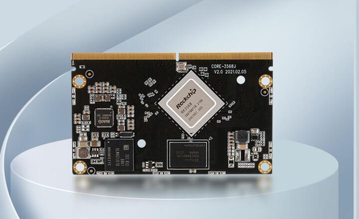 Rockchip RK3568处理器Firefly Core-3568J AI Core模块
