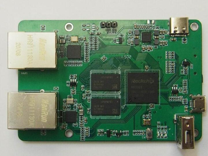 SmartHomeBoard Pi-R2S3328-B