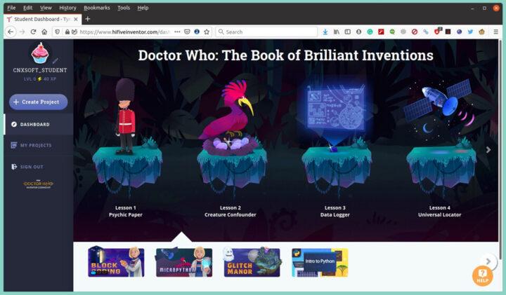 '神秘博士'MicroPython课程