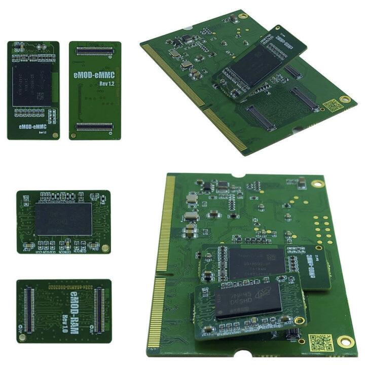 可更换 eMMC和 RAM的AM335x 系统级模块