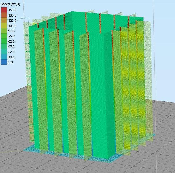 3d打印机缩回校准立方体