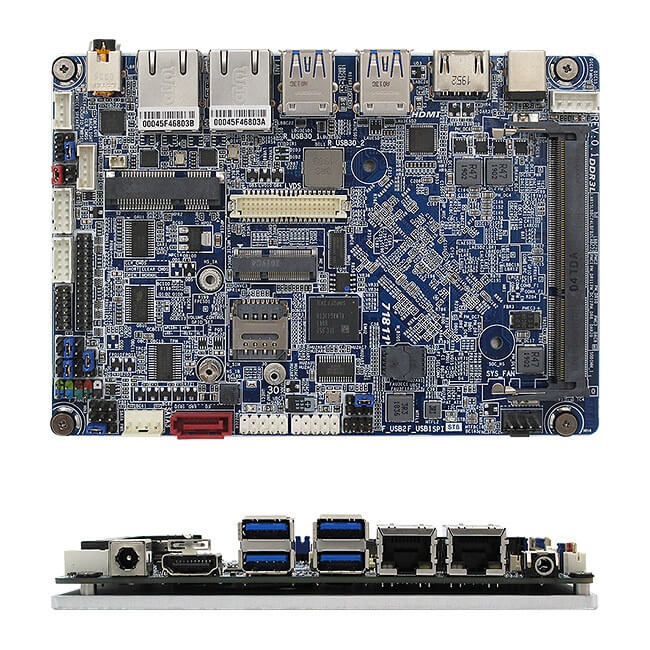 9-36V 宽范围直流电压输入工业SBC