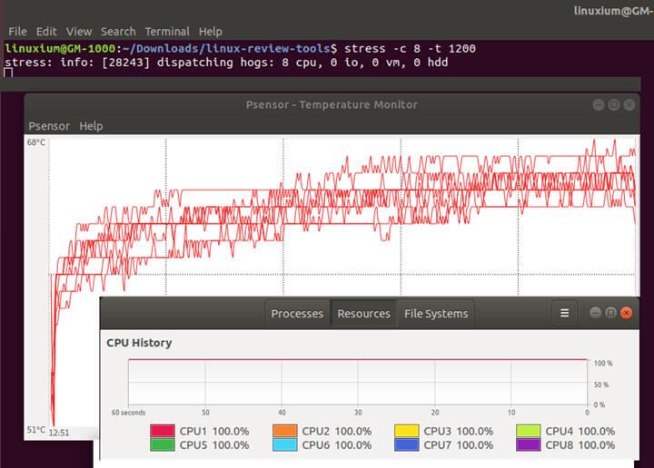 CPU温度测试