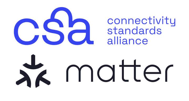 CSA联盟和Matter标志