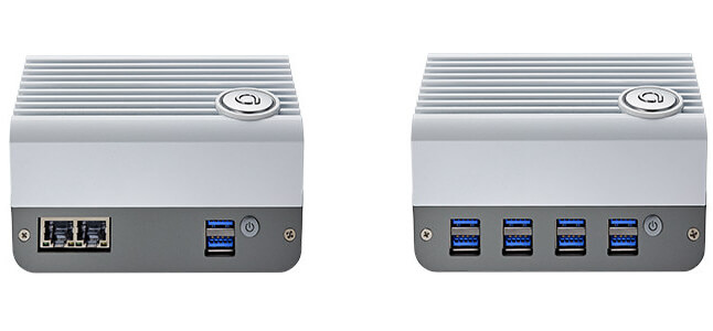 DeviceEdge Mini M2 (左) & M3 (右) edge AI 迷你电脑