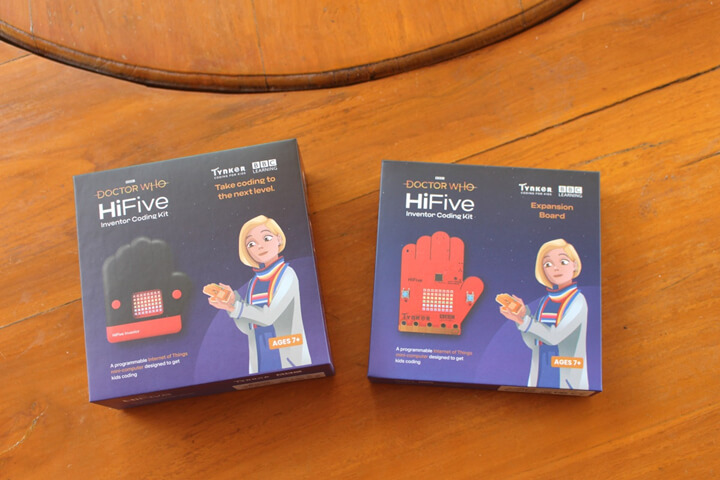 HiFive Inventor包装盒
