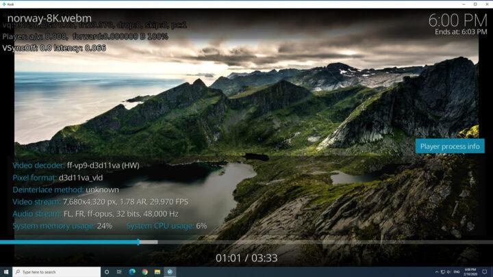 MINISFORUM X35G 8K windows kodi(点击可放大)