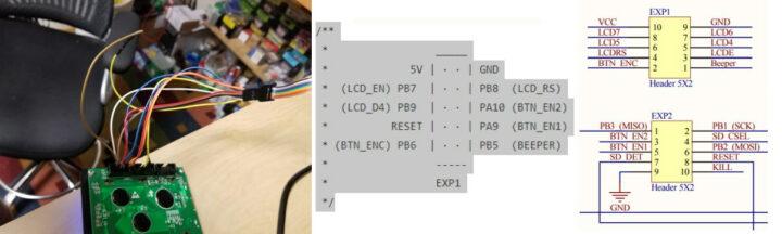 SKR Mini E3 LCD引脚连接图