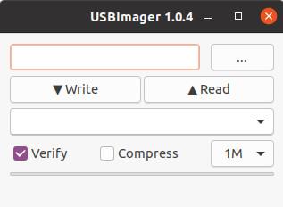 USBImager 用户界面