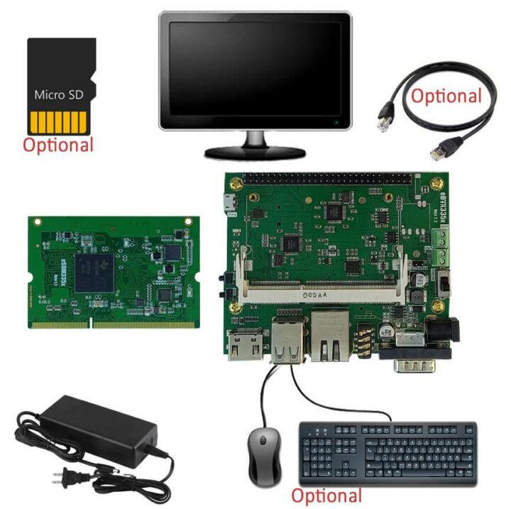 eSOM335x WinCE开发套件