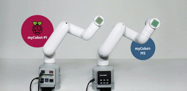两款MyCobot 机械臂