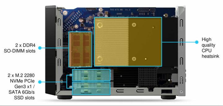 兆芯x86 NAS散热器