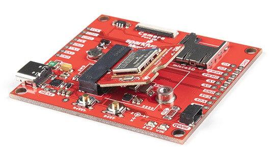 带有MicroMod处理器板的MicroMod机器学习载板