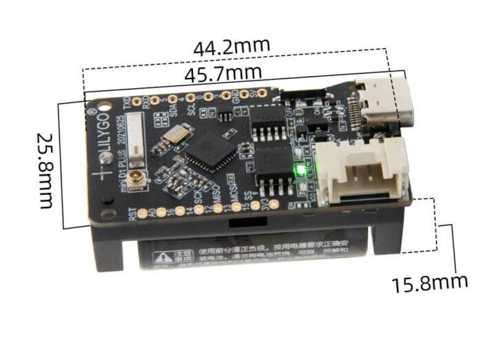 带电池的LilyGO TTGO T-OI Plus ESP32-C3板