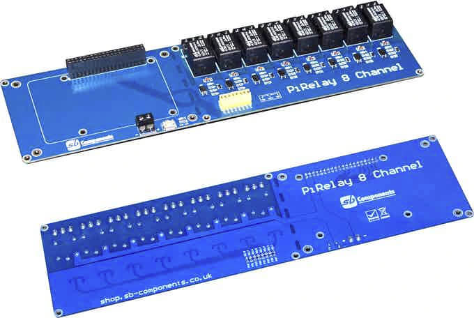 树莓派继电器扩展板
