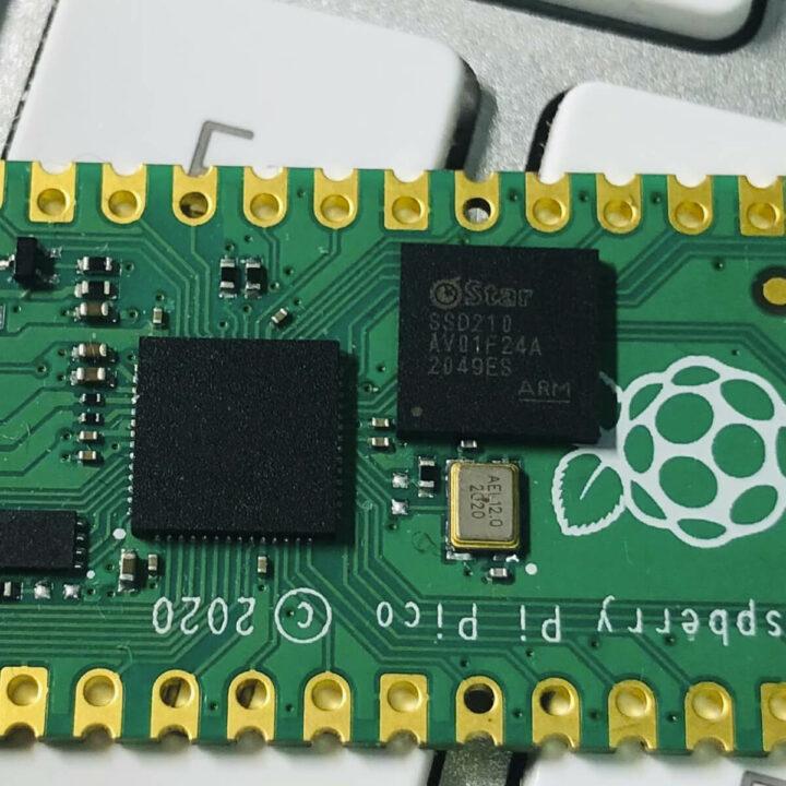 树莓派Pico板上的SSD210