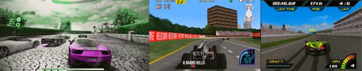 狂野飙车8– F1赛车锦标赛(N64)–印地赛车2000(N64)