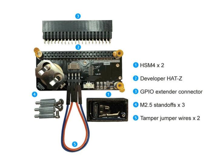 用于树莓派、Jetson Nano 的 HSM4 开发套件