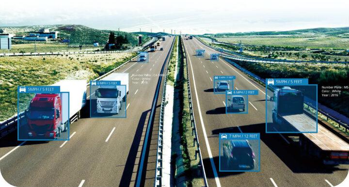 超恩 EAC-2000应用于交通视觉演示中