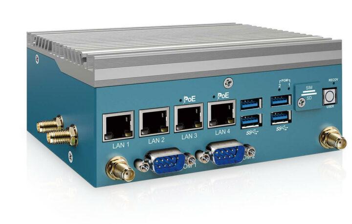 超恩EAC-2000无风扇嵌入式系统