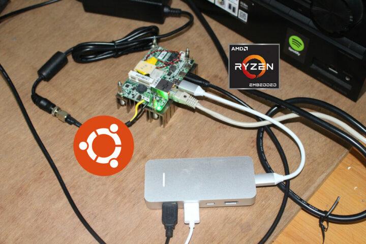 AMD锐龙嵌入式 Ubuntu 20.04