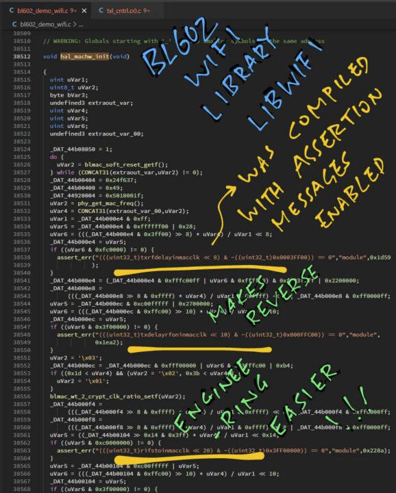 BL602反编译C代码