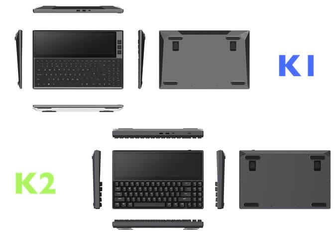 FICIHIP多功能键盘的K1与K2 型号