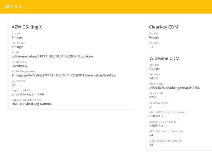 GS-King X上的DRM信息