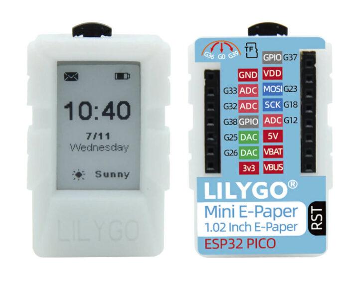 LILYGOmini e-paper core