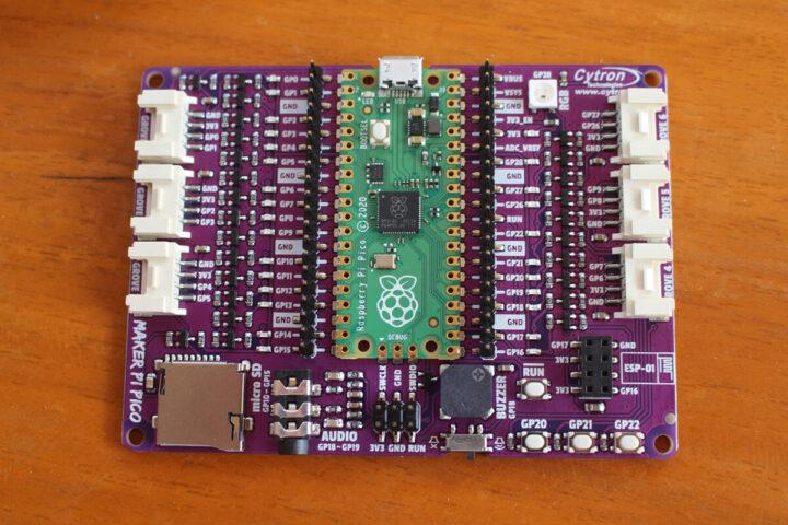 Maker Pi Pico接口说明图