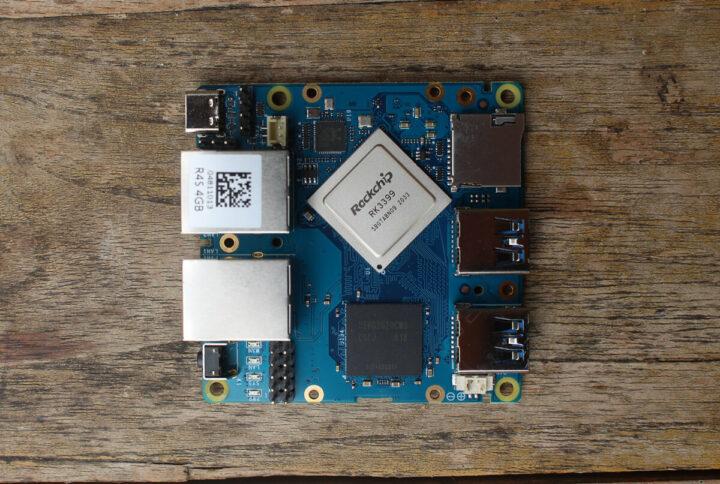 NanoPi R4S电路板