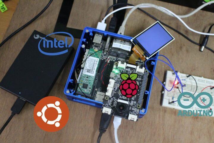 ODYSSEY-X86J4105 SBC安装ubuntu系统并与树莓派、arduino连接