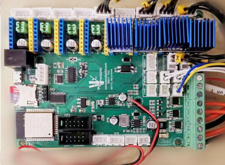 PandaZhu ESP32 3D打印机控制板