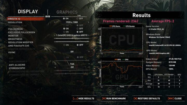 Quieter2使用iGPU游戏性能