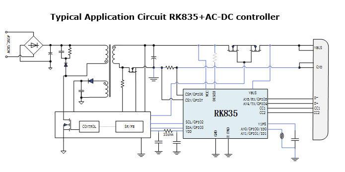 RK835典型应用电路