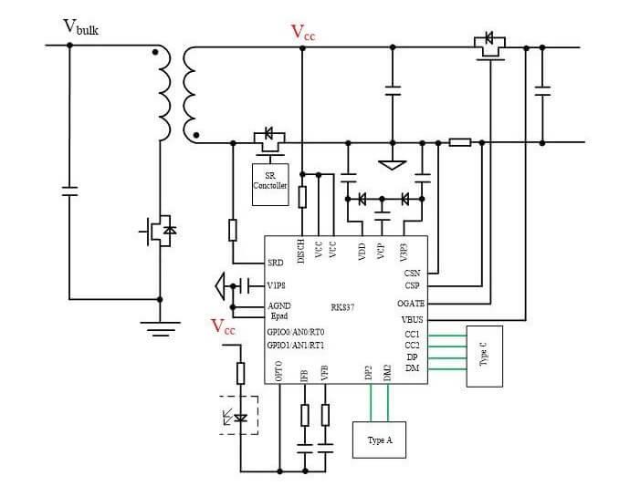 RK837典型应用电路