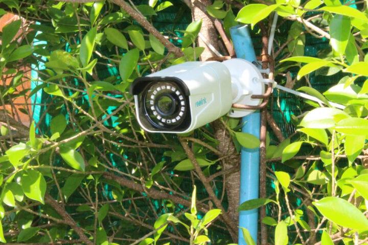Reolink RLC-810A摄像头安装完成